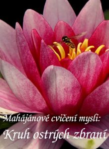 Mahájánové cvičení mysli: Kruh ostrých zbraní