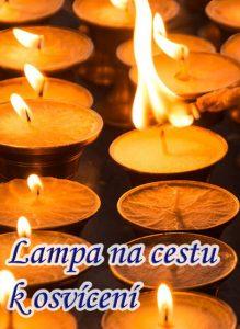 Lampa na cestu k osvícení