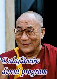 Dalajlámův denní program